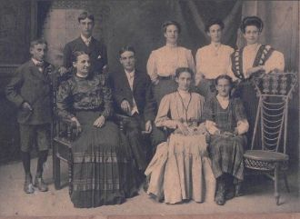 Mary (Steele) Goody Family,  Ontario Canada c 1900
