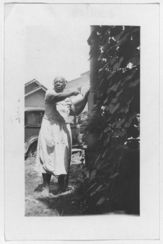 Mary Kindred, ex-slave, Beaumont