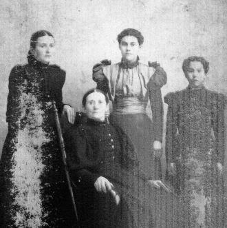 Josephine (Deschene) Rasmussen family, MN