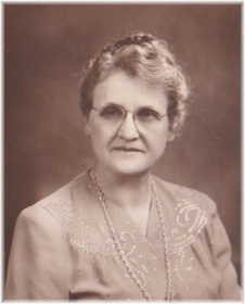 Lottie E. Miller Kline, 3rd Cousin 1X - b. 1889 - d. 1976 From the Johnson side of my Family (My Dad, Marc Johnson)