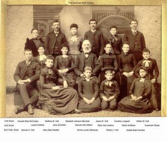 Samuel Holt Family