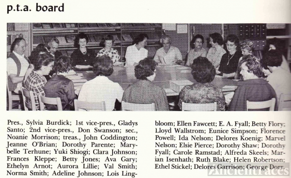 PTA Board Evergreen High School