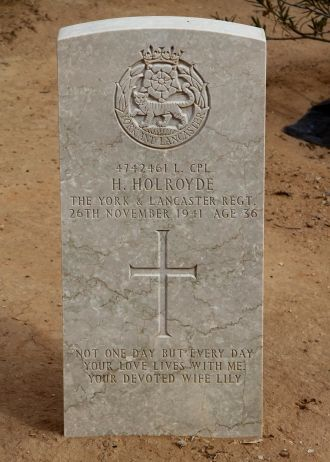 Howard  Holroyde gravesite