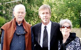 James Blanchard and Tom and Barbara Mulvey