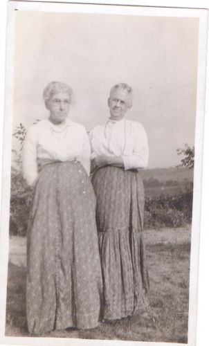 Florence Sheppard and Georgette Parvin