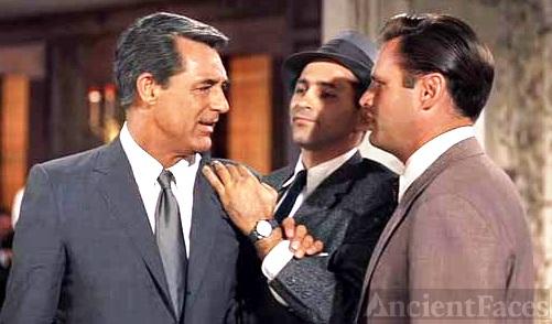 Adam Williams and Cary Grant