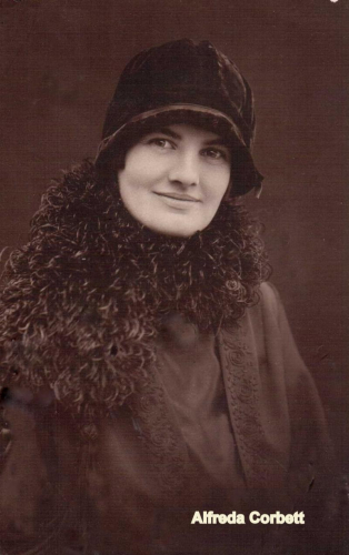 Alfreda Elizabeth Corbett born Lowman