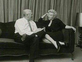 William Thorton PETE Martin with Marilyn Monroe.