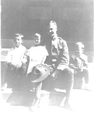 Uncle Bernard Dillon with Brothers