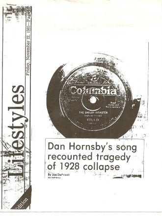 Dan Hornsby's musical career