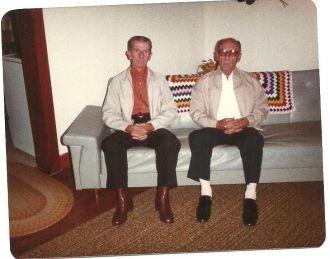 Henry & Paul Pippin, Kentucky 1982