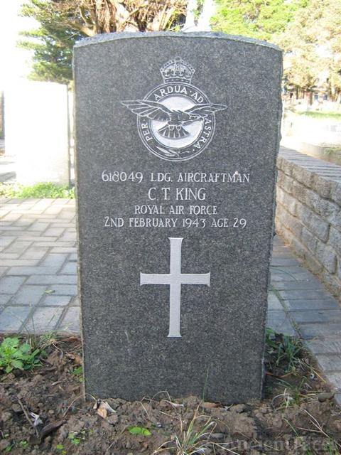 Cecil Thomas King gravesite