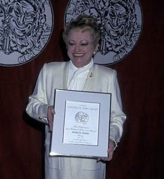 Marcia Lewis, Tony Award Winner