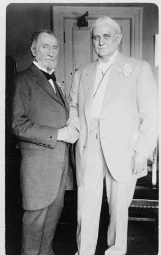Uncle Joe Cannon & Speaker Clark, 80th birthday