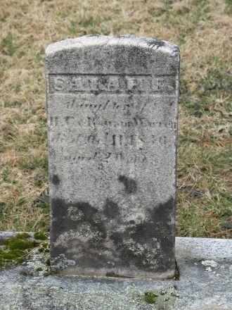 Sarah Elisabeth Warren gravestone
