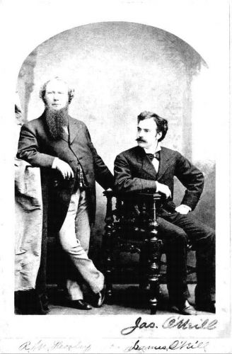Richard Hooley and James O'Neill