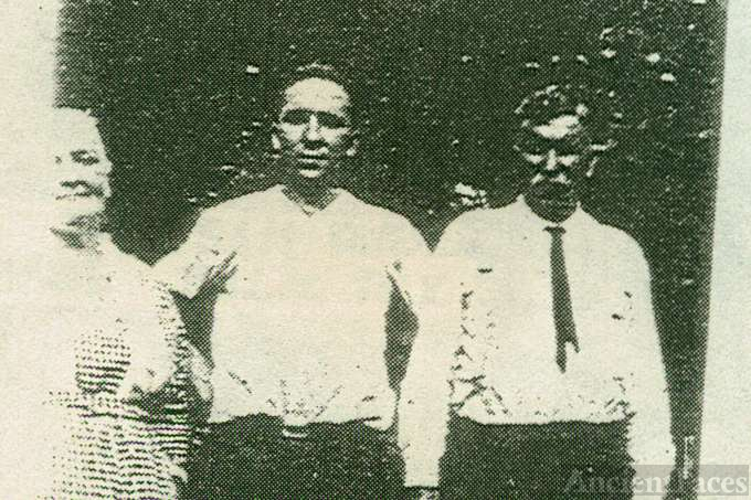 William, Clarence and Elizabeth Madill