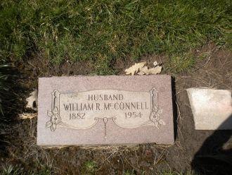 William R. McConnell gravesite
