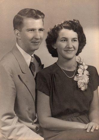 Herbert & Genevieve (Ulmer) Young Wedding