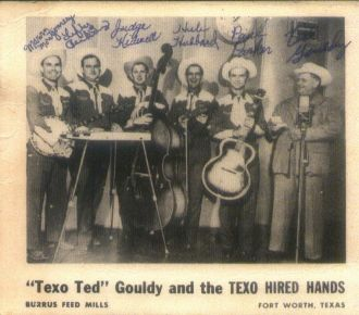 """""""Texo Ted"""" Gouldy and the Texas Hired Hands"""