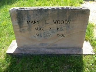 Mary Louise Woody Montague gravesite