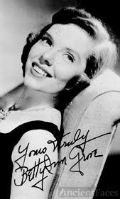 Betty Ann Grove autograph
