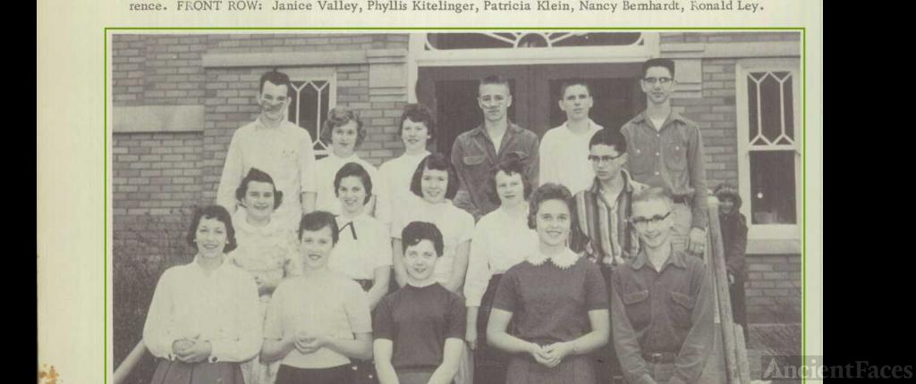Carol Lee Shaben-Wentz--U.S., School Yearbooks, 1900-1999(1957)Librarian