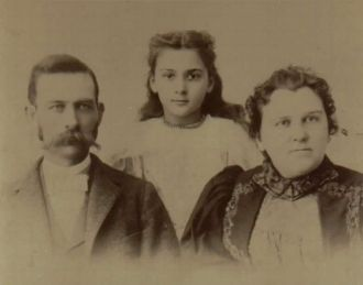Francis, Bertha, & Mrs. Binkley