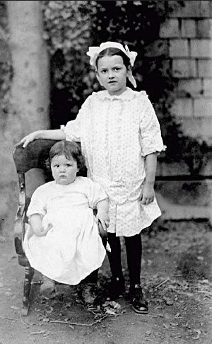 Bethel & baby Verna Holmes