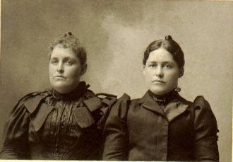 Gertrude and Virginia Junkin