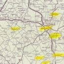 Map of Grantham England area