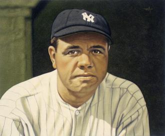 Babe Ruth by Arthur K. Miller.