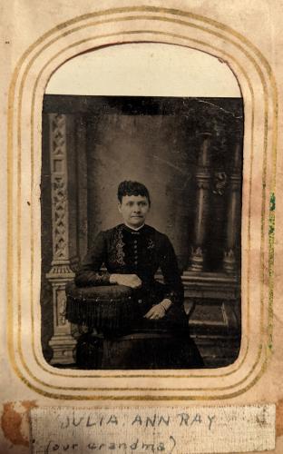 Julia Ann Hooper Ray