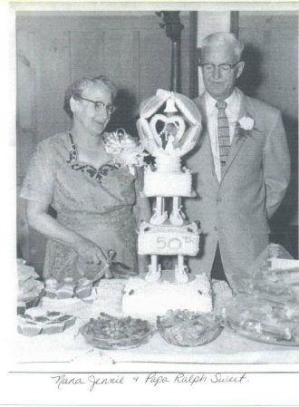 Jennie Mae (Frazier) & Ralph Garland Sweet Sr.