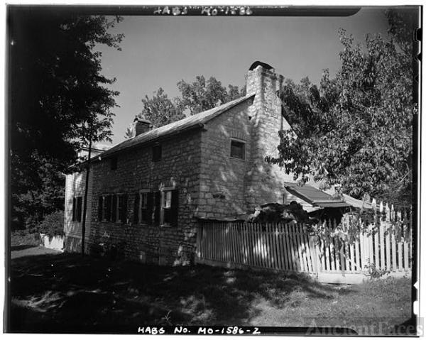 2. SIDE FACADE - Herman Garlichs House, Femme Osage, St....