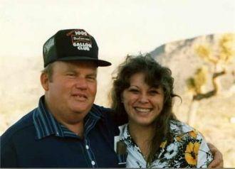 Walter Harold Engle and Cathy Smith nee Anterola circa 1976