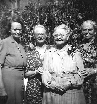 Jennie Ethel (Miller) Morgan family