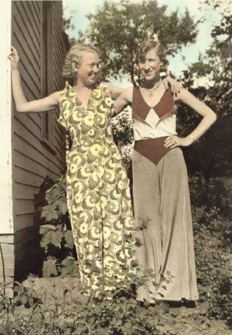 Sisters Madelyn and Rachel Kerr