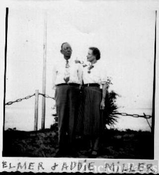 Elmer and Addie Norvell Miller
