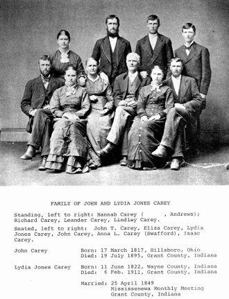 John & Lydia Carey Family
