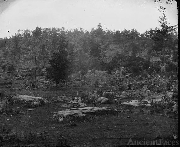Gettysburg, Pa. View of Little Round Top