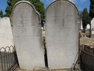 Wilkinson family Headstones