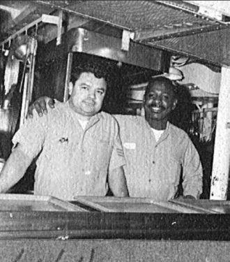 Greg Melendrez & Shipmate