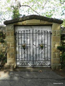James Bickel Rickard Headstone