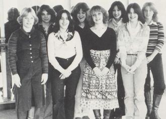 East Brunswick High School - Dance Club 1978