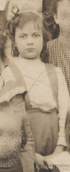 Constance Hunter, school girl