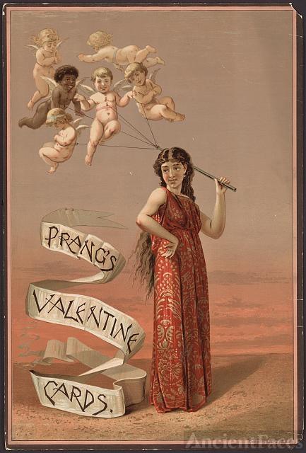 Prang's Valentine cards
