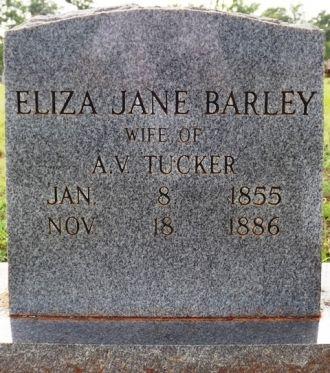 Elizabeth Jane Barley gravesite