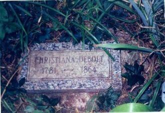 Christiana Debolt Tombstone