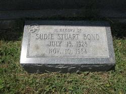Sudie Stuart Bond Gravesite